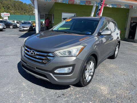 2013 Hyundai Santa Fe Sport for sale at PIONEER USED AUTOS & RV SALES in Lavalette WV