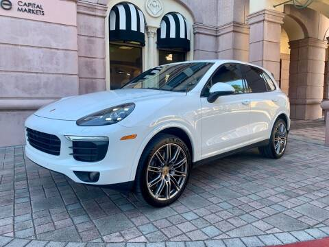 2017 Porsche Cayenne for sale at AUTOSPORT MOTORS in Lake Park FL