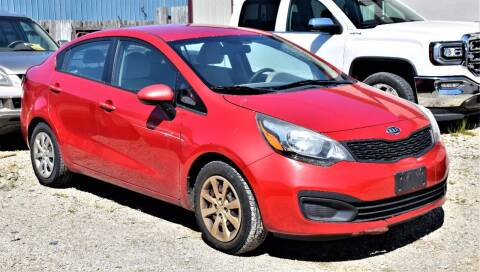 2012 Kia Rio for sale at PINNACLE ROAD AUTOMOTIVE LLC in Moraine OH