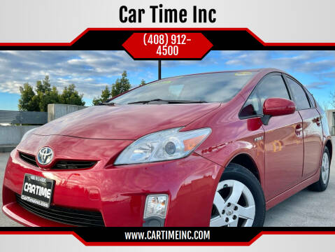2011 Toyota Prius for sale at Car Time Inc in San Jose CA