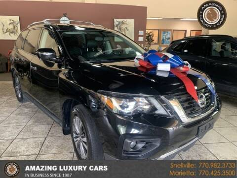 2017 Nissan Pathfinder for sale at Amazing Luxury Cars in Snellville GA