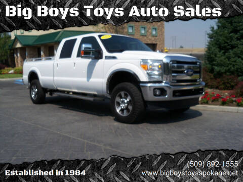 2016 Ford F-350 Super Duty for sale at Big Boys Toys Auto Sales in Spokane Valley WA