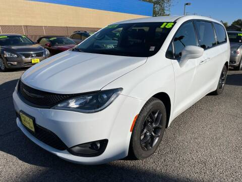2018 Chrysler Pacifica for sale at M.A.S.S. Motors in Boise ID