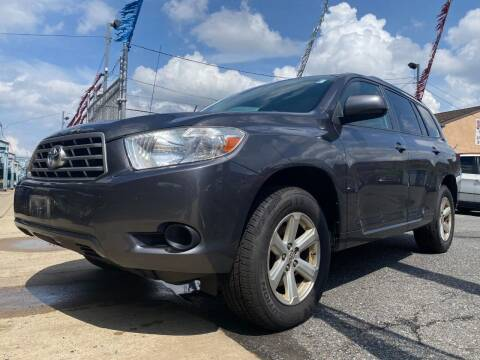 2008 Toyota Highlander for sale at The PA Kar Store Inc in Philladelphia PA
