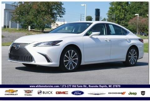 2019 Lexus ES 350 for sale at WHITE MOTORS INC in Roanoke Rapids NC