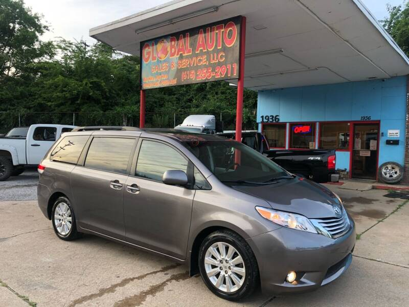 2011 Toyota Sienna for sale at Global Auto Sales and Service in Nashville TN