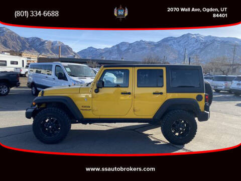 2015 Jeep Wrangler Unlimited for sale at S S Auto Brokers in Ogden UT