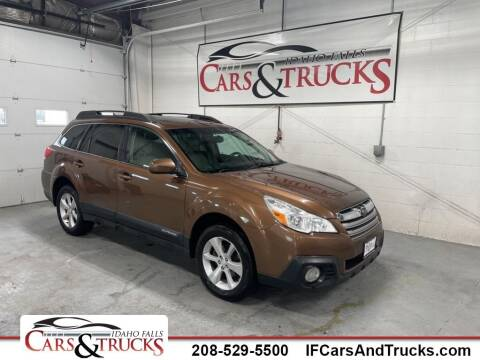2013 Subaru Outback for sale at Idaho Falls Cars and Trucks in Idaho Falls ID