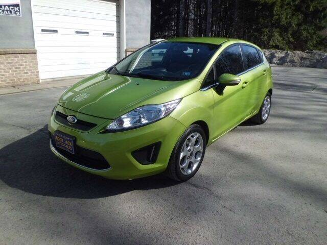 2013 Ford Fiesta for sale at Boot Jack Auto Sales in Ridgway PA