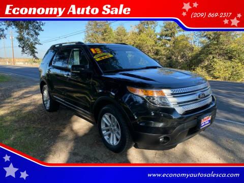 2013 Ford Explorer for sale at Economy Auto Sale in Modesto CA
