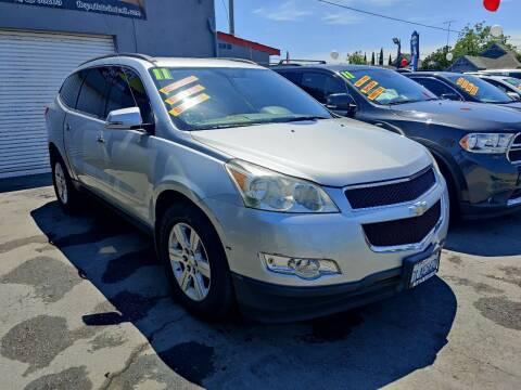 2011 Chevrolet Traverse for sale at Rey's Auto Sales in Stockton CA
