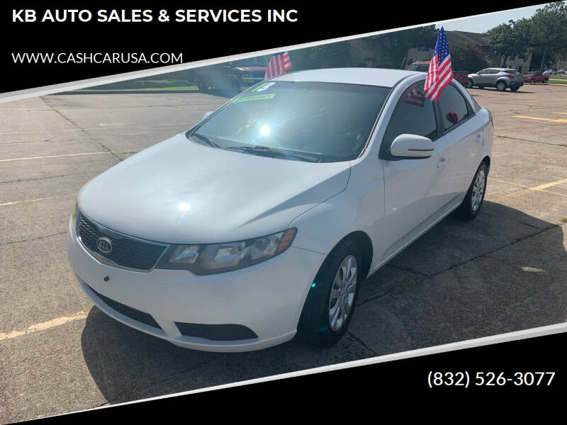 2013 Kia Forte for sale at KB AUTO SALES & SERVICES INC in Houston TX