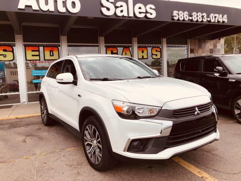 2016 Mitsubishi Outlander Sport for sale at Daniel Auto Sales inc in Clinton Township MI