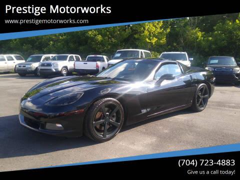2009 Chevrolet Corvette for sale at Prestige Motorworks in Concord NC
