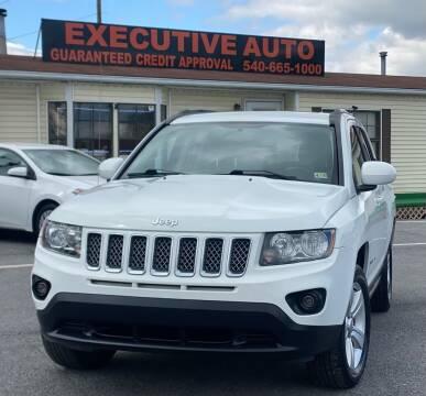 2016 Jeep Compass for sale at Executive Auto in Winchester VA