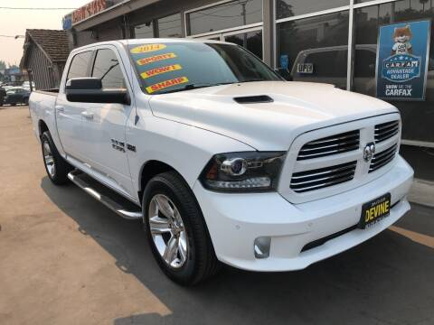 2014 RAM Ram Pickup 1500 for sale at Devine Auto Sales in Modesto CA