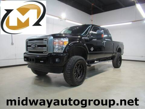 2016 Ford F-250 Super Duty for sale at Midway Auto Group in Addison TX