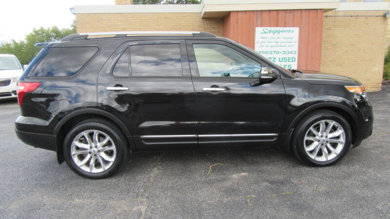 2015 Ford Explorer for sale at LENTZ USED VEHICLES INC in Waldo WI