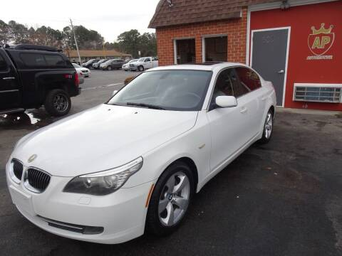 2008 BMW 5 Series for sale at AP Automotive in Cary NC