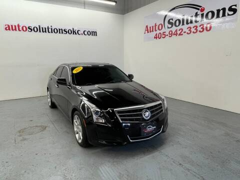 2013 Cadillac ATS for sale at Auto Solutions in Warr Acres OK