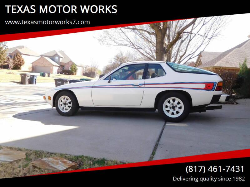 1977 Porsche 924 for sale at TEXAS MOTOR WORKS in Arlington TX