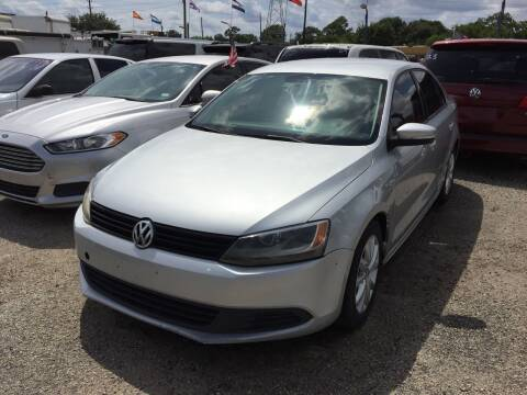 2012 Volkswagen Jetta for sale at BSA Used Cars in Pasadena TX