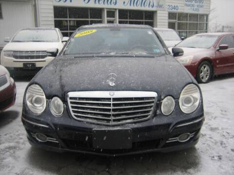 2008 Mercedes-Benz E-Class for sale at B. Fields Motors, INC in Pittsburgh PA