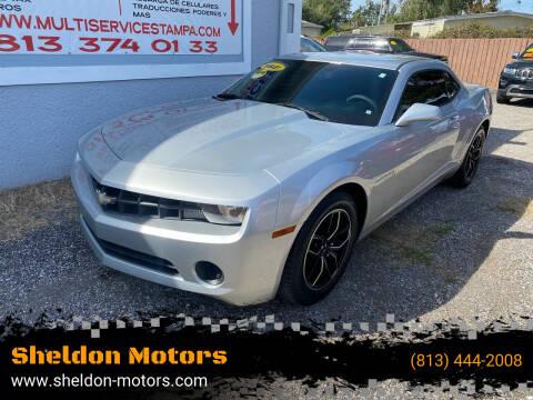 2012 Chevrolet Camaro for sale at Sheldon Motors in Tampa FL