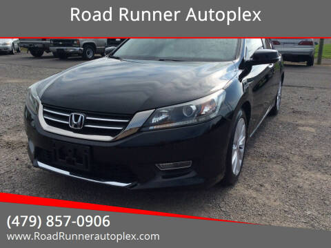 2013 Honda Accord for sale at Road Runner Autoplex in Russellville AR