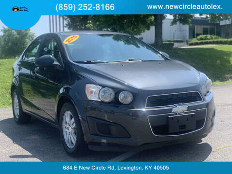 2015 Chevrolet Sonic for sale at New Circle Auto Sales LLC in Lexington KY