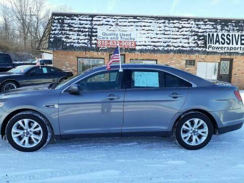 2011 Ford Taurus for sale at Kenny's Korner in Hartland MI
