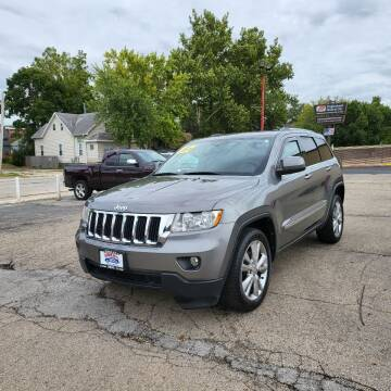 2012 Jeep Grand Cherokee for sale at Bibian Brothers Auto Sales & Service in Joliet IL