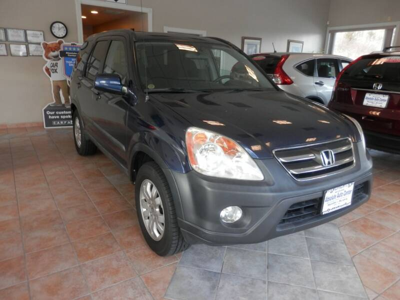 2006 Honda CR-V for sale at ABSOLUTE AUTO CENTER in Berlin CT