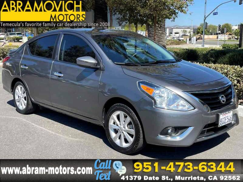 2016 Nissan Versa for sale in Murrieta, CA