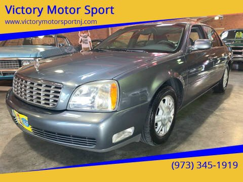 2004 Cadillac DeVille for sale at Victory Motor Sport in Paterson NJ