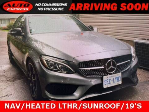 2018 Mercedes-Benz C-Class for sale at Auto Express in Lafayette IN