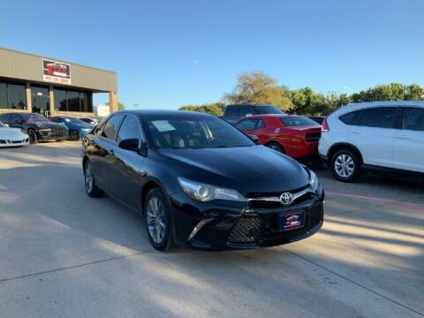 2015 Toyota Camry for sale at KIAN MOTORS INC in Plano TX