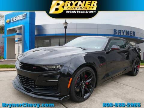 2021 Chevrolet Camaro for sale at BRYNER CHEVROLET in Jenkintown PA