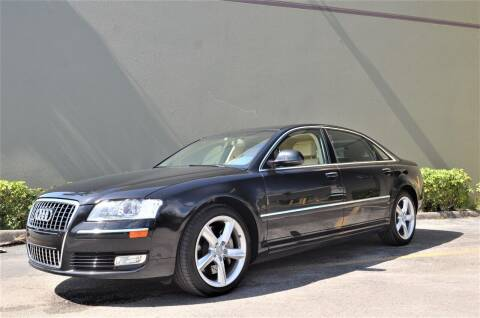 2010 Audi A8 L for sale at ALWAYSSOLD123 INC in North Miami Beach FL