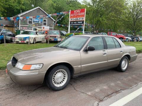2002 Mercury Grand Marquis for sale at Korz Auto Farm in Kansas City KS