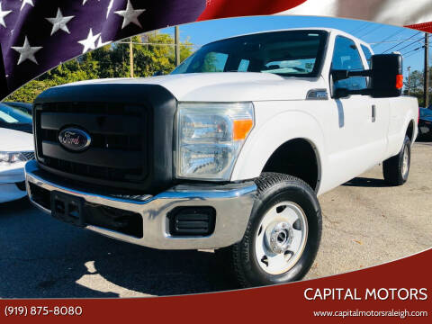 2012 Ford F-250 Super Duty for sale at Capital Motors in Raleigh NC