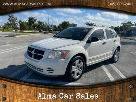 2007 Dodge Caliber for sale at Alma Car Sales in Miami FL