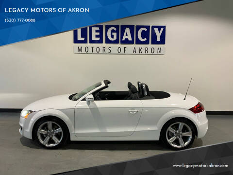 2011 Audi TT for sale at LEGACY MOTORS OF AKRON in Akron OH