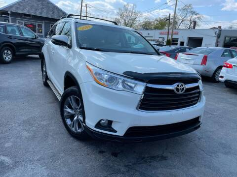 2014 Toyota Highlander for sale at Mass Auto Exchange in Framingham MA