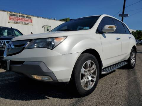2009 Acura MDX for sale at MENNE AUTO SALES LLC in Hasbrouck Heights NJ