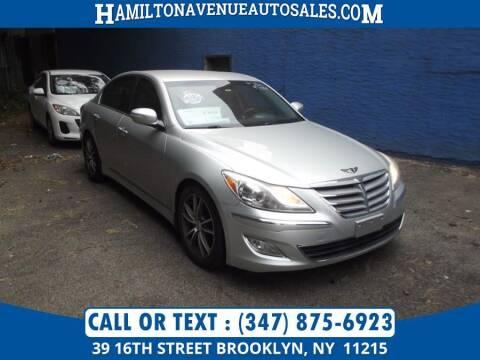 2012 Hyundai Genesis for sale at Hamilton Avenue Auto Sales in Brooklyn NY