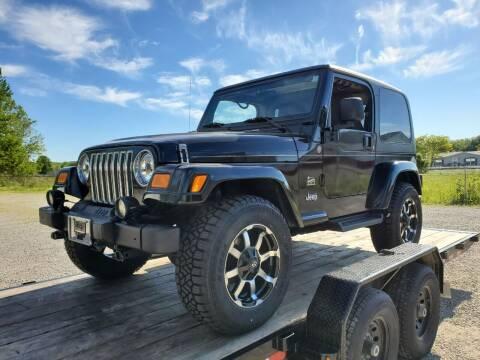2004 Jeep Wrangler for sale at Grace Motors in Evansville IN