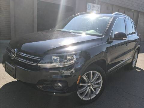 2012 Volkswagen Tiguan for sale at Skye Auto in Fremont CA
