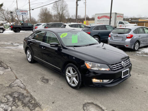 2015 Volkswagen Passat for sale at JERRY SIMON AUTO SALES in Cambridge NY