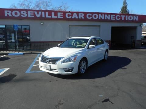 2013 Nissan Altima for sale at ROSEVILLE CAR CONNECTION in Roseville CA